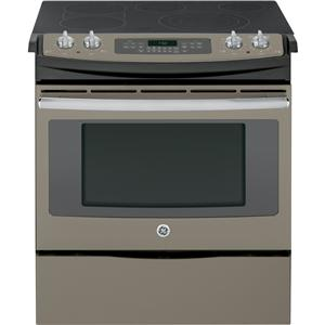 "GE Appliances Electric Ranges - 2014 2 30"" Slide-In Electric Convection Range"