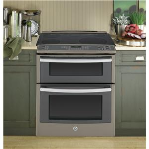 "GE Appliances Electric Ranges - 2014 2 Profile™ 30"" Slide-In Double Oven"