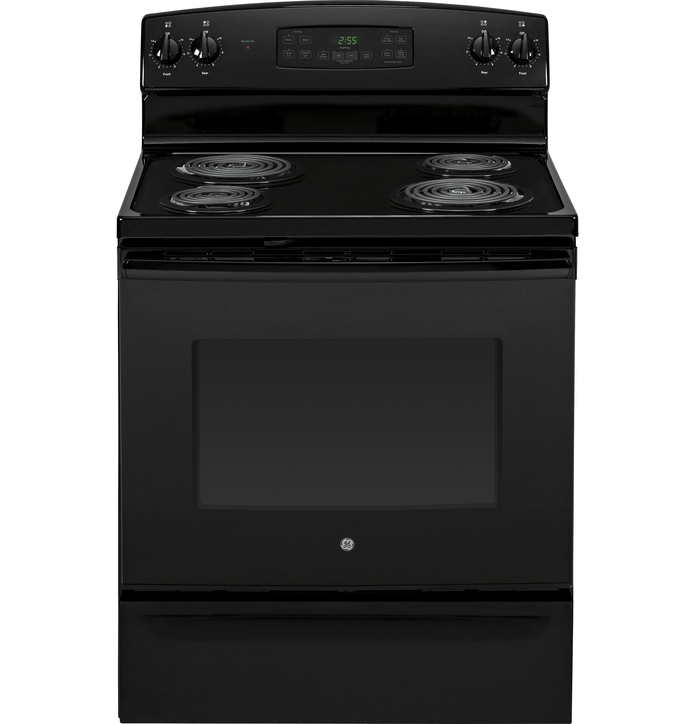 "GE Appliances GE Electric Ranges 30"" Free-Standing Electric Range - Item Number: JB255DJBB"