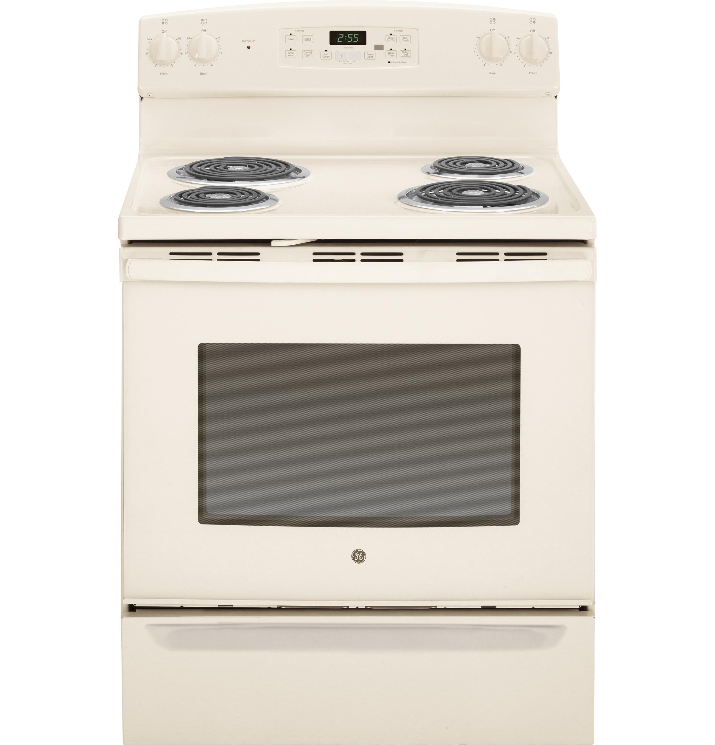 "GE Appliances GE Electric Ranges 30"" Free-Standing Electric Range - Item Number: JB255DJCC"