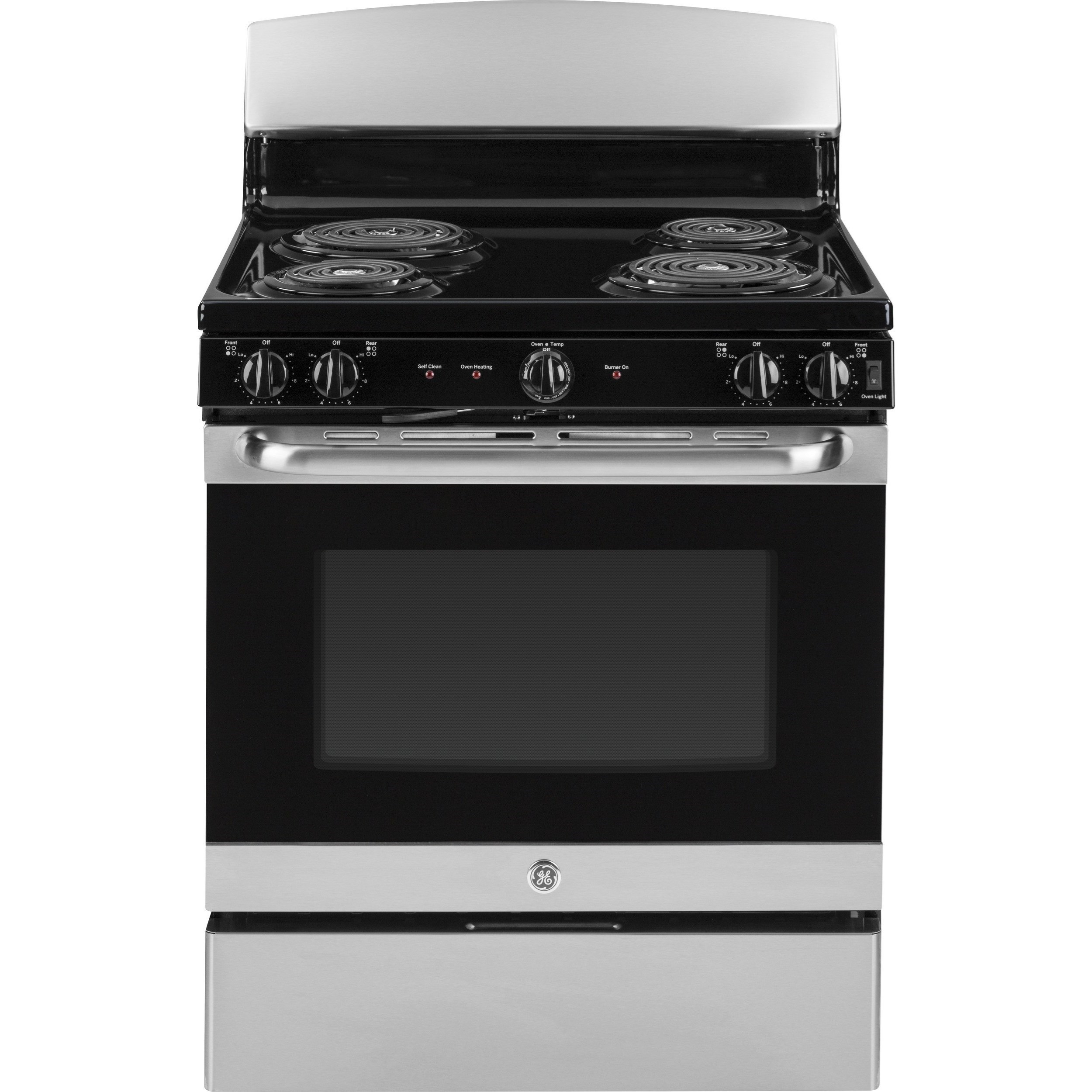 "GE Appliances GE Electric Ranges GE® 30"" Free-Standing Electric Range - Item Number: JB450RKSS"