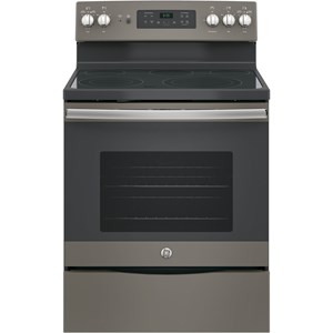 "GE Appliances GE Electric Ranges 30"" Free-Standing Convection Electric Range"