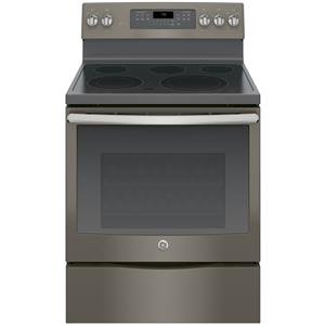 "GE Appliances GE Electric Ranges 30"" Electric Convection Range"