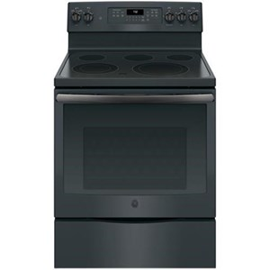 "GE Appliances Electric Ranges 30"" Free-Standing Electric Convection Range"