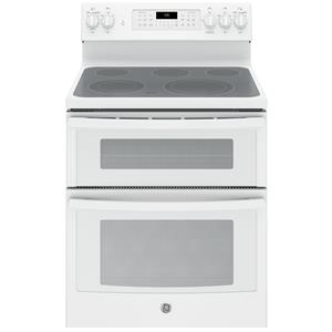 "GE Appliances GE Electric Ranges 30"" Electric Double Oven Convection Range"