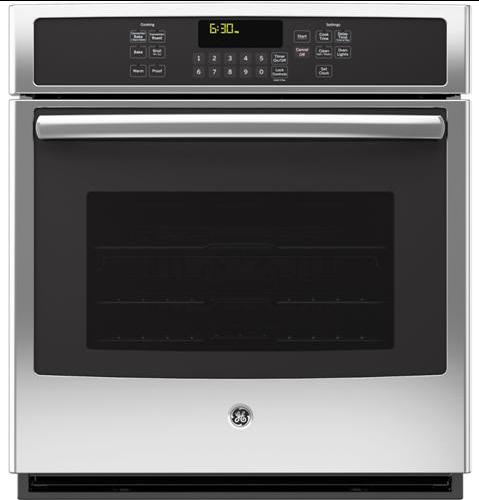 """GE Appliances Electric Wall Oven 27"""" Built-In Convection Wall Oven - Item Number: JK5000SFSS"""