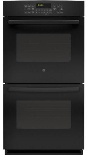 """GE Appliances Electric Wall Oven 27"""" Built-In Convection Wall Oven - Item Number: JK5500DFBB"""