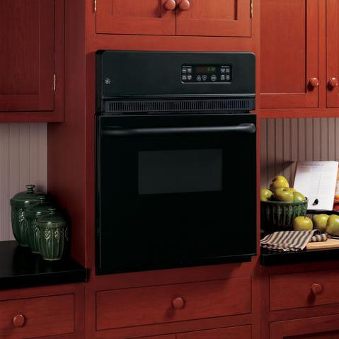 """GE Appliances Electric Wall Oven 24"""" Built-In Single Electric Oven - Item Number: JRP20BJBB"""
