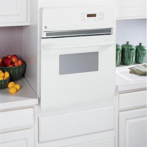 "GE Appliances Electric Wall Oven 24"" Built-In Single Electric Oven - Item Number: JRP20WJWW"