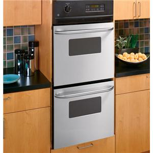 "GE Appliances Electric Wall Oven 24"" Built-In Double Wall Oven"