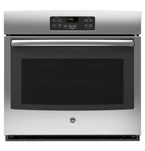 """GE Appliances Electric Wall Oven 30"""" Built-In Wall Oven - Item Number: JT1000SFSS"""