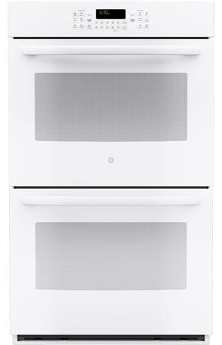 "GE Appliances Electric Wall Oven 30"" Built-In Double Wall Oven - Item Number: JT3500DFWW"