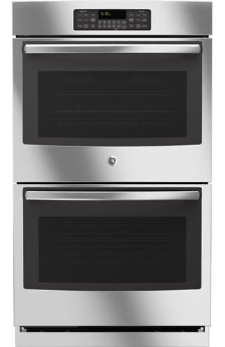 """GE Appliances Electric Wall Oven 30"""" Built-In Double Wall Oven - Item Number: JT3500SFSS"""