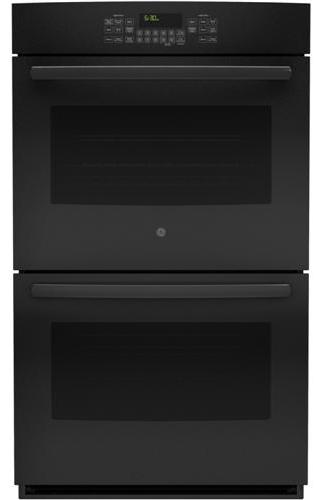 "GE Appliances Electric Wall Oven 30"" Built-In Double Wall Oven - Item Number: JT5500DFBB"