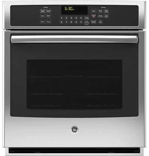 """GE Appliances Electric Wall Oven 27"""" Built-In Convection Wall Oven - Item Number: PK7000SFSS"""