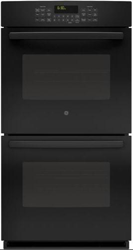 """GE Appliances Electric Wall Oven 27"""" Built-In Double Convection Wall Oven - Item Number: PK7500DFBB"""