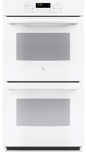 """GE Appliances Electric Wall Oven 27"""" Built-In Double Convection Wall Oven - Item Number: PK7500DFWW"""