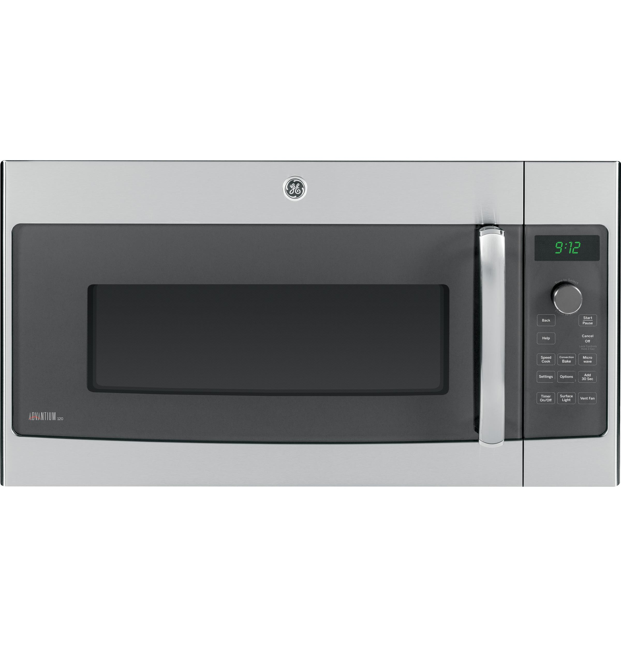 """GE Appliances Electric Wall Oven 30"""" Over-the-Range 4-in-1 Electric Oven - Item Number: PSA9120SFSS"""