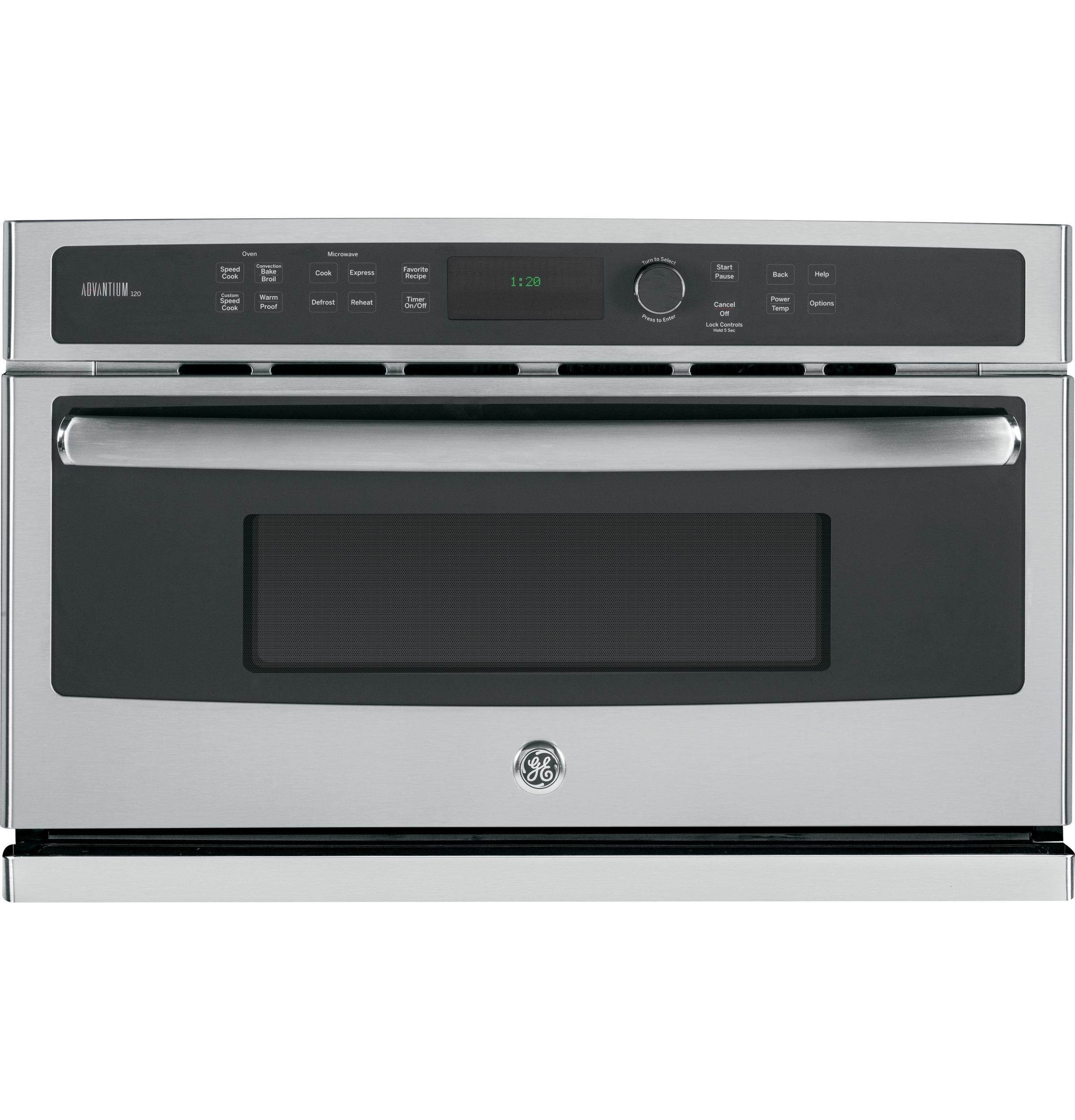 GE Appliances Electric Wall Oven 30 in. 4-in-1 Wall Oven - Item Number: PSB9120SFSS