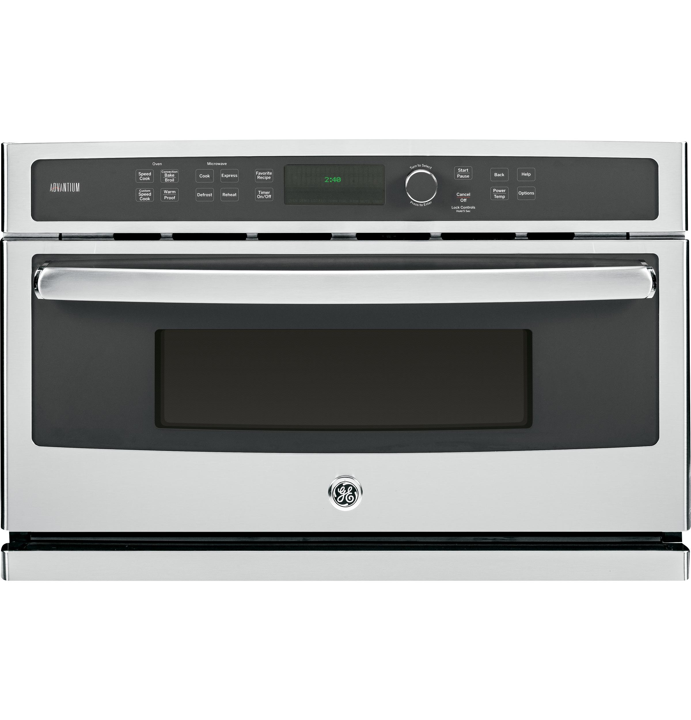 GE Appliances Electric Wall Oven 30 in. 4-in-1 Wall Oven - Item Number: PSB9240SFSS