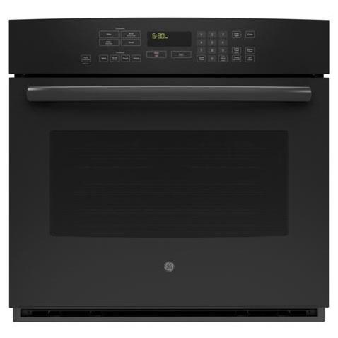 "GE Appliances Electric Wall Oven 30"" Built-In Convection Wall Oven - Item Number: PT7050DFBB"