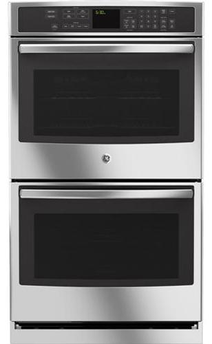 "GE Appliances Electric Wall Oven 30"" Built-In Double Wall Oven - Item Number: PT7550SFSS"