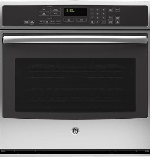 """GE Appliances Electric Wall Oven 30"""" Built-In Convection Wall Oven - Item Number: PT9050SFSS"""