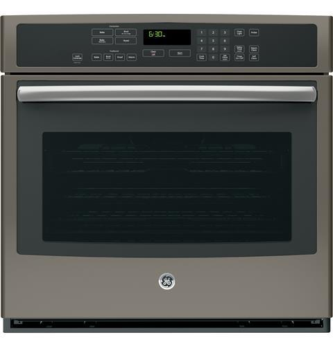 """GE Appliances Electric Wall Ovens Profile™ 30"""" Built-In Single Convection Oven - Item Number: PT7050EHES"""
