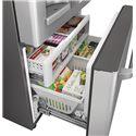 GE Appliances French Door Refrigerators GE Cafe™ Series ENERGY STAR® 22.1 Cu. Ft. Counter-Depth French-Door Refrigerator