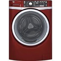GE Appliances Front Load Washers - GE ENERGY STAR® 4.9 Cu. Ft. Front Load Washer - Item Number: GFW480SPKRR