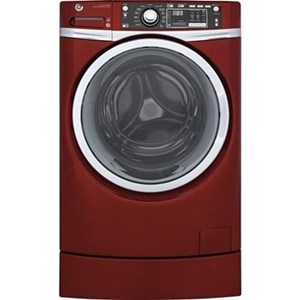 GE Appliances Front Load Washers - GE ENERGY STAR® 4.9 Cu. Ft. RightHeight™ Washer