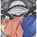 GE Appliances Front Load Washers - GE ENERGY STAR® 4.9 DOE Cu. Ft. RightHeight™ Design Front Load Washer with Steam