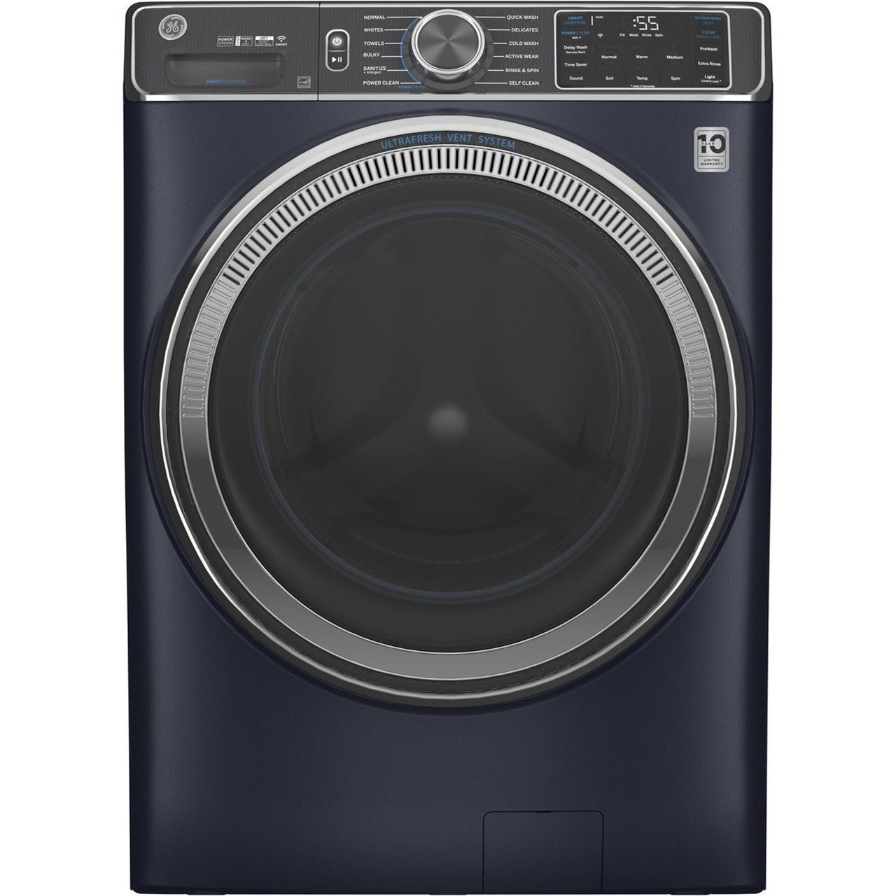 GE® 5.0 cu. ft. Capacity Smart Washer