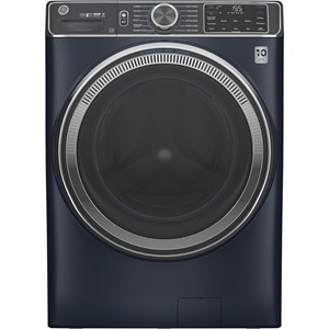 GE® 5.0 cu. ft. Capacity Smart Front Load ENERGY STAR® Steam Washer with SmartDispense™ UltraFresh Vent System with OdorBlock™