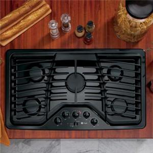 """GE Appliances Gas Cooktops 36"""" Built-In Gas Cooktop"""