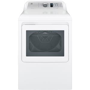 GE Appliances Gas Dryers 7.4 cu. ft. Aluminized Alloy Dryer