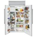 GE Appliances GE Cafe Side-By-Side Refrigerators GE Cafe´™ Series 48