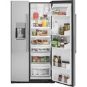 GE Appliances GE Cafe Side-By-Side Refrigerators GE Cafe´™ Series 22.1 Cu. Ft. Counter-Depth Side-By-Side Refrigerator