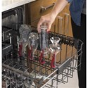 GE Appliances GE Dishwasers GE® Stainless Steel Interior Dishwasher with Third Rack