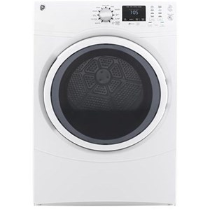 GE Appliances GE Electric Dryers 7.5 cu. ft. Front Load Electric Dryer
