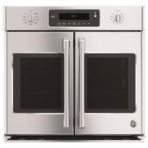 "GE Appliances GE Cafe Electric Wall Ovens Cafe™ 30"" French-Door Convection Oven"