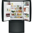 GE Appliances GE French Door Refrigerators GE® Series ENERGY STAR® 23.8 Cu. Ft. French-Door Refrigerator
