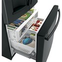 GE Appliances GE French Door Refrigerators GE® Series ENERGY STAR® 25.8 Cu. Ft. French-Door Refrigerator