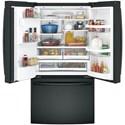 GE Appliances GE French Door Refrigerators GE® Series ENERGY STAR® 27.8 Cu. Ft. French-Door Refrigerator