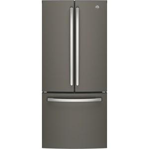 GE Appliances GE French Door Refrigerators 20.8 Cu. Ft. French-Door Refrigerator