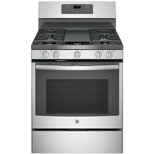 "GE Appliances GE Gas Ranges 30"" Free-Standing Gas Convection Range"
