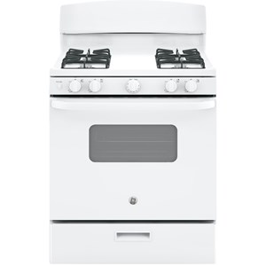 "GE Appliances GE Gas Ranges GE® 30"" Free-Standing Gas Range"