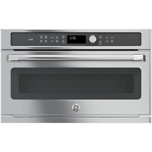 GE Appliances GE Microwaves Cafe™ Built-In Microwave/Convection Oven