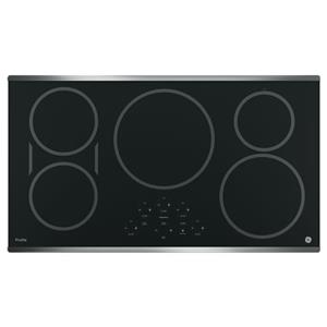 """GE Appliances GE Profile Electric Cooktops Profile™ Series 36"""" Induction Cooktop"""