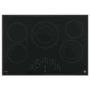 """GE Appliances GE Profile Electric Cooktops Profile™ Series 30"""" Cooktop"""